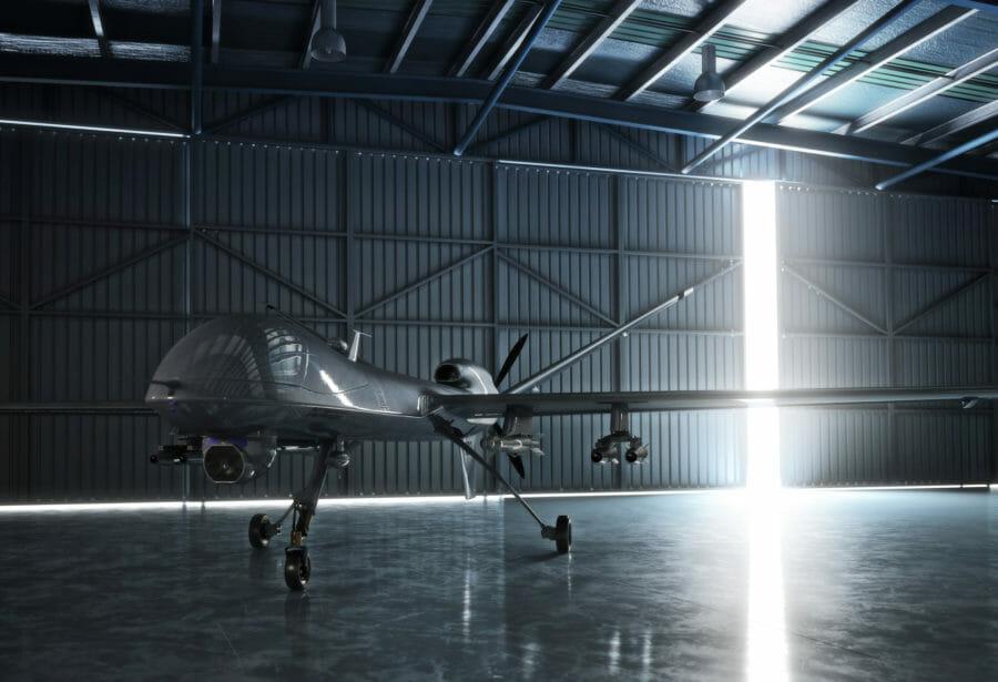 無人爆撃機の写真